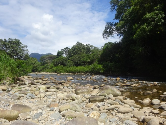 Panamá. El Tinajón. Agujero del río Santa María.