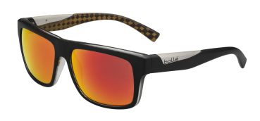 Gafas de Sol Bolle CLINT 11828 Mat Black Orange - Polarized TNS Fire
