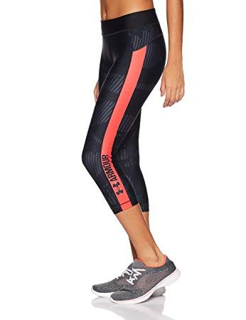 Under Armour Damen UA HG Printgrap Capri B01M9DZ0TE_1