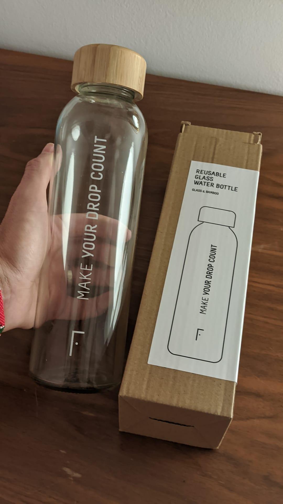 botella reutilizable freshly cosmetics