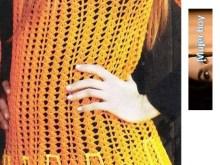 Blusa sencilla tejida a crochet