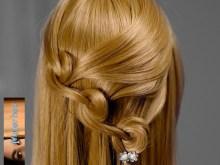 Peinados sencillos pelo suelto