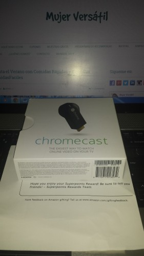 Google Chromecast HDMI Streaming Media Player $49.99