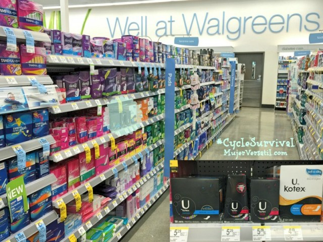 U by Kotex® en Walgreens