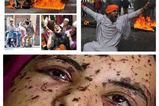 بھارت کا مکروہ چہرہ۔۔۔۔سید علی احمد بخاری