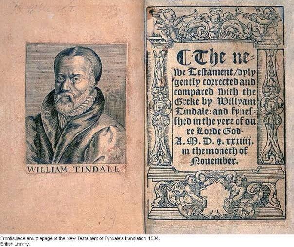 British Library Yeni Ahit Tyndale cevirisi