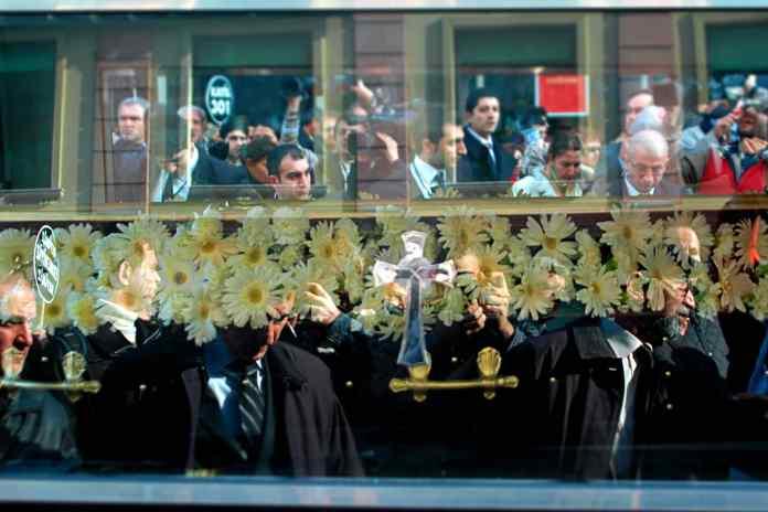Hrant Dink cenaze töreni