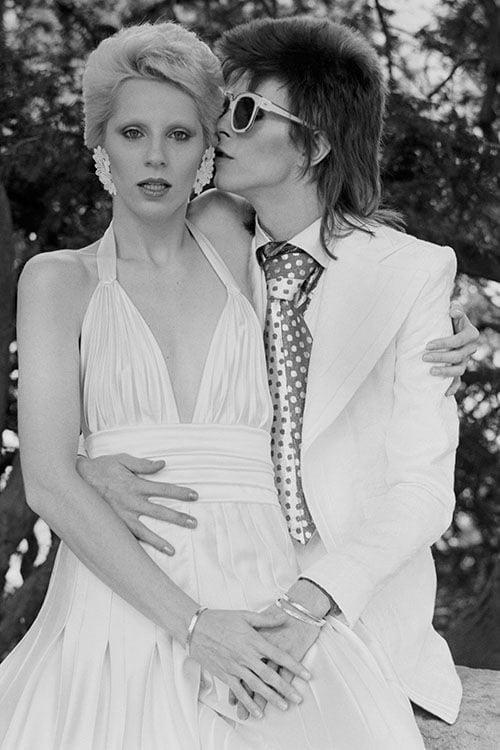 David Bowie ve Angie Barnett min