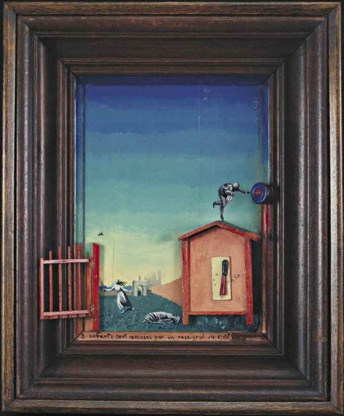 Max Ernst Two Children Are Threatened by a Nightingale min