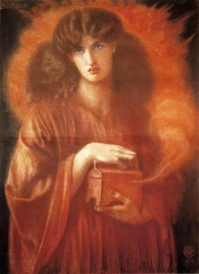 Pandora 1 Dante Gabriel Rossetti min 1