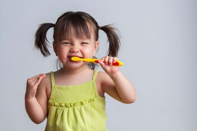 getting your kids to brush