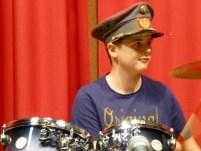 Max Steinbrugger, Schlagzeug