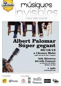 Albert Palomar + Súper Gegant - Músiques Invisibles
