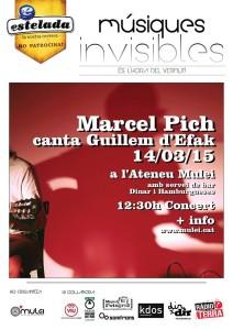 Marcel Pich canta Guillem d'Efak