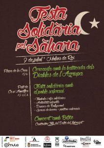 Festa solidària pel Sàhara