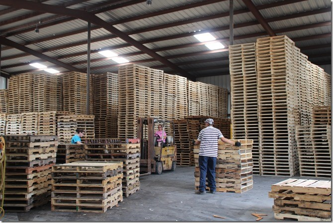 How a pallet supply company came to be