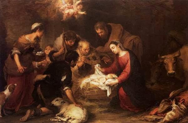 """""""Adoração dos Pastores"""" - Bartolomé Steban Murillo"""