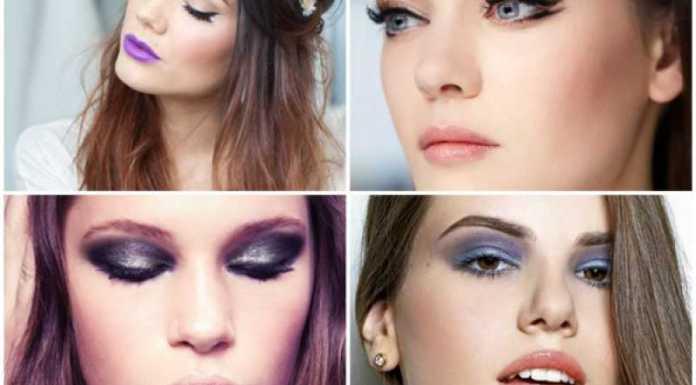 A maquilhagem de inverno exige brilho, luz e muita cor