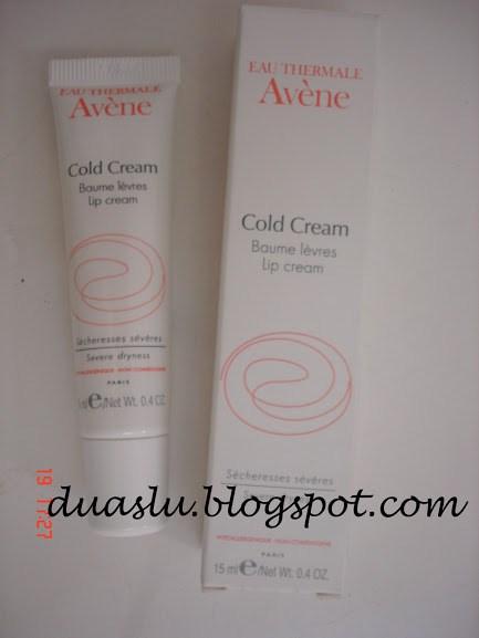 Cold Cream Avene resenha