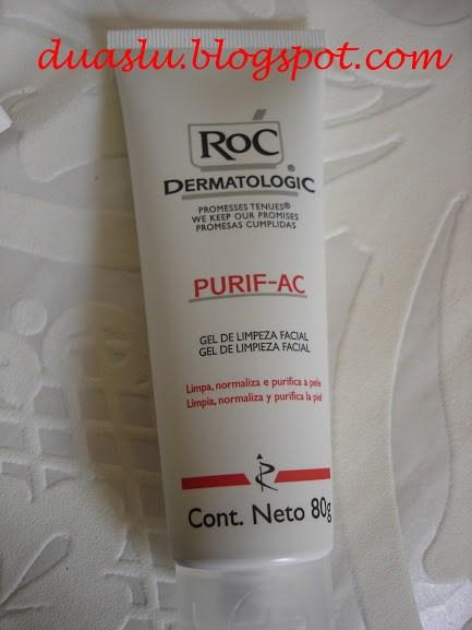 Purif AC Roc - resenha - limpeza pele oleosa