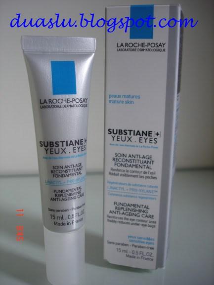 Substiane Yeux - Substiane Olhos - La Roche Posay resenha