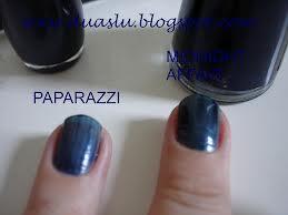Comparação de esmaltes: Paparazzi x Midnight Affair