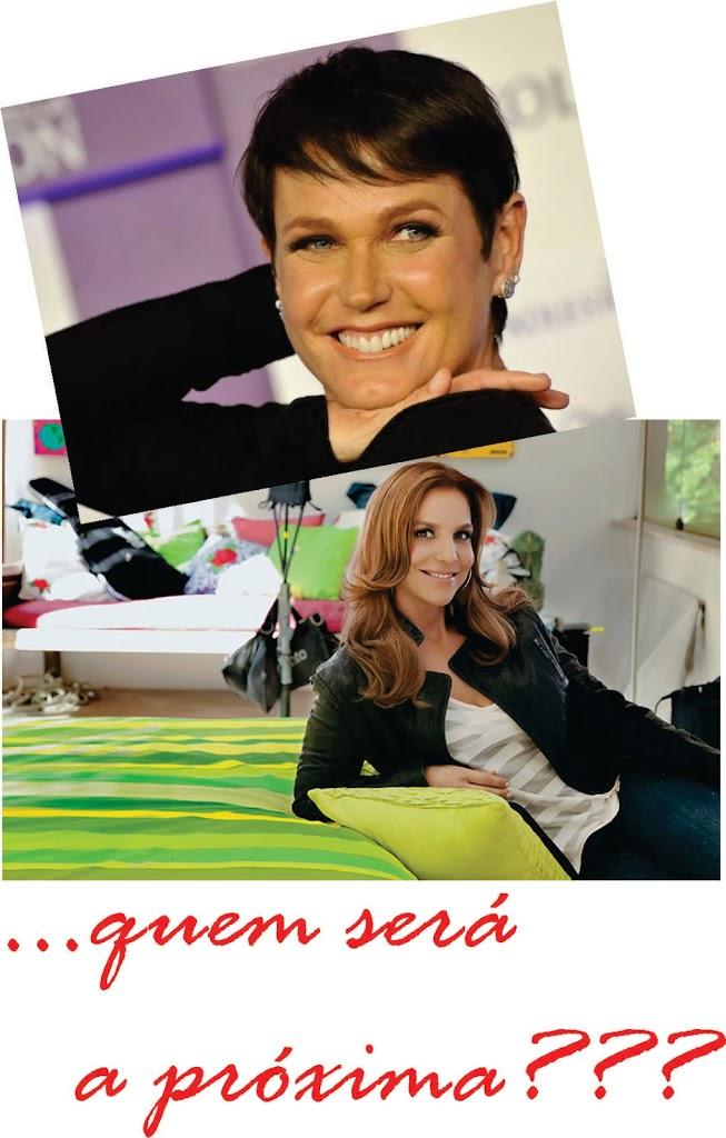 Xuxa morena e Ivete Sangalo ruiva