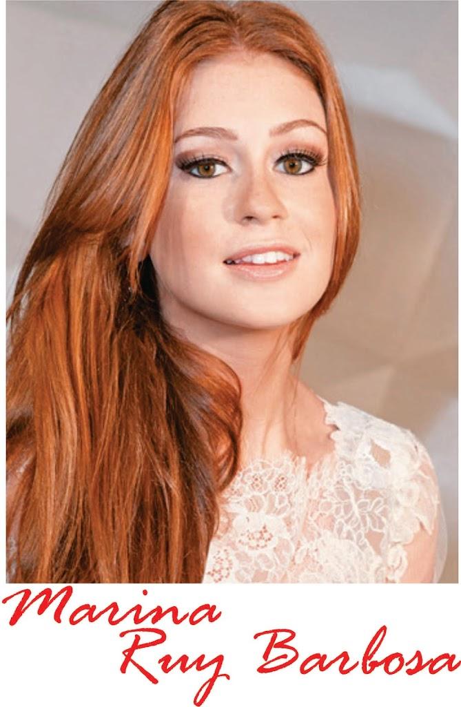 Marina Ruy Barbosa vai pintar o cabelo?