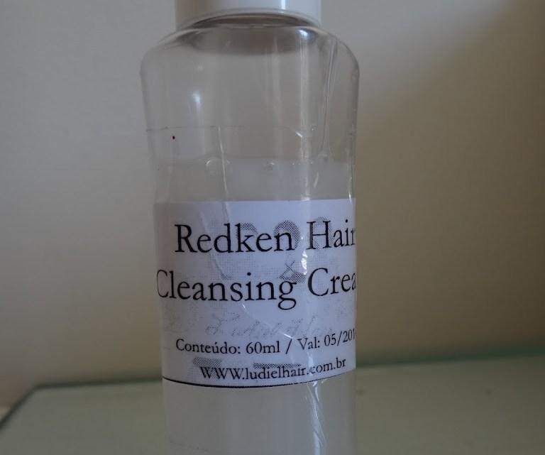 Redken Hair Cleansing Cream Shampoo – resenha