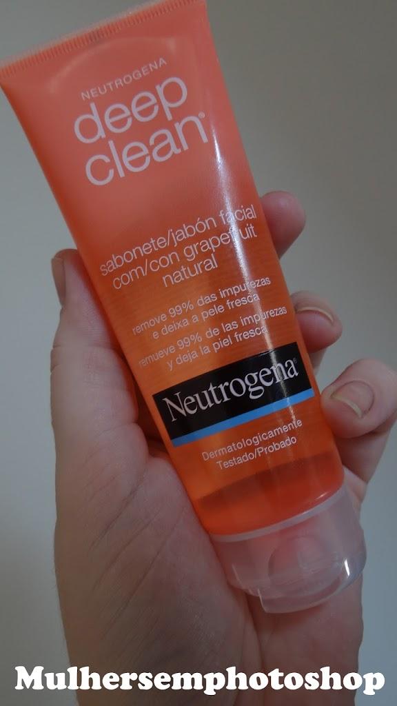 Deep Clean Neutrogena Sabonete Facial Grapefruit resenha