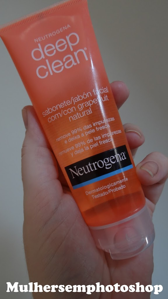 Deep Clean Neutrogena Sabonete Facial Grapefruit resenha