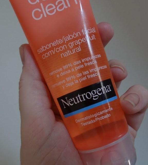 Deep Clean Neutrogena Sabonete Facial resenha