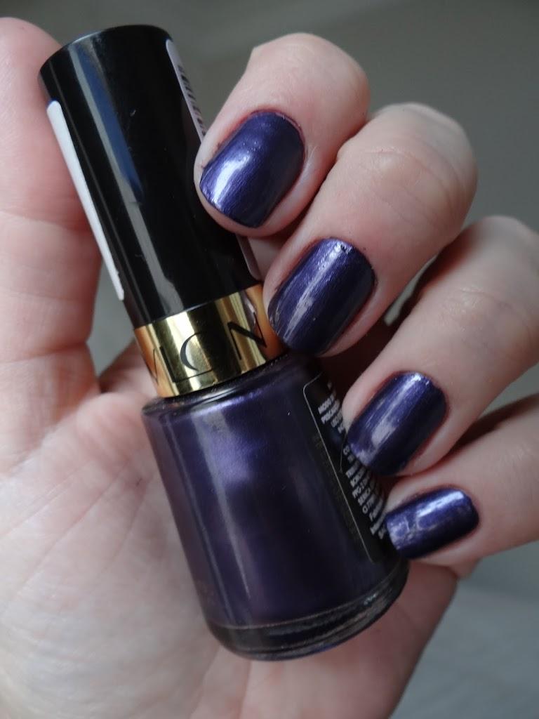 No Shrinkling Violet Revlon esmalte roxo