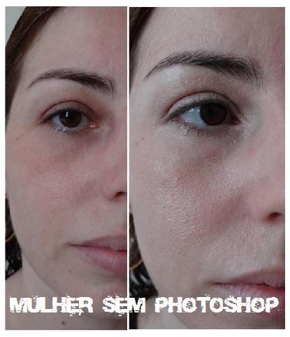 maquiagem pele natural