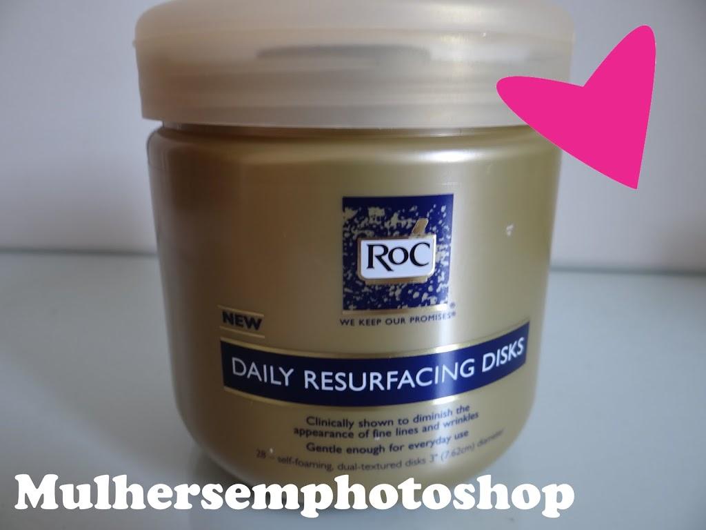 Roc Daily Resurfacing Disks - resenha - esfoliação e limpeza de pele oleosa