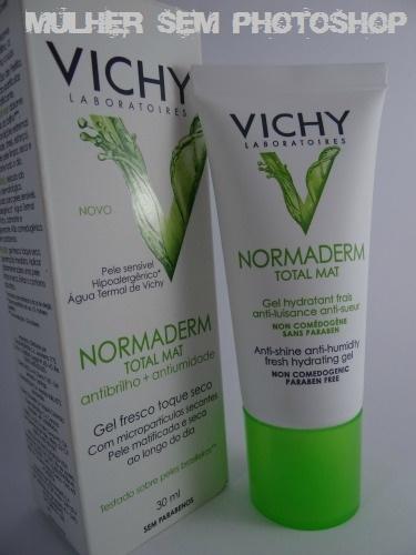 Normaderm Total Mat Vichy para pele oleosa