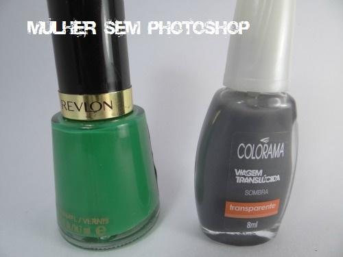 Posh da Revlon + Sombra da Colorama