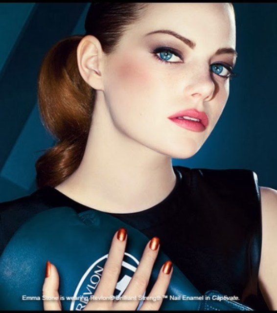 Emma Stone usando Captivate