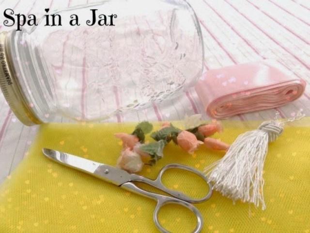 spa in a jar  dica linda de presente faça você mesmo