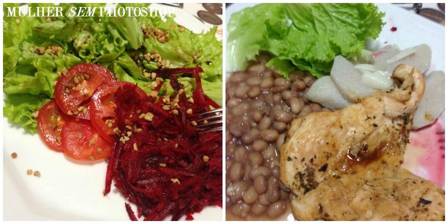 Blogueira de dieta: cardápio almoço