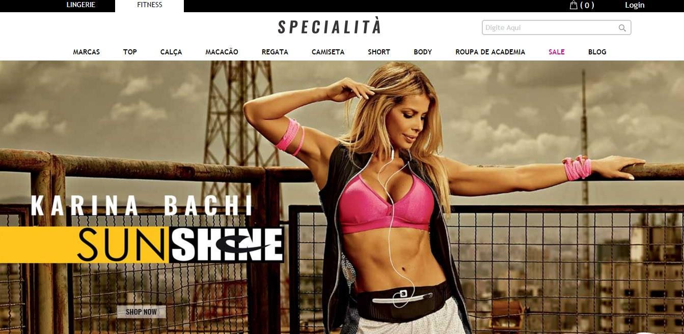 Onde comprar moda fitness - Specialità Fitness