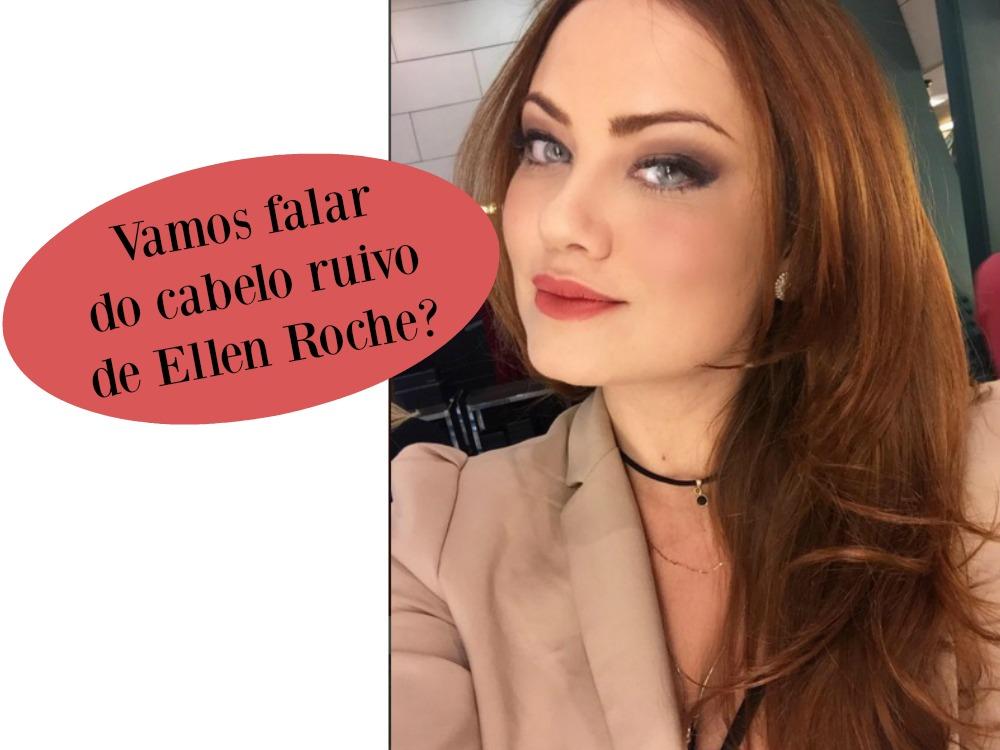 Cabelo ruivo de Ellen Roche em Insensato Coração