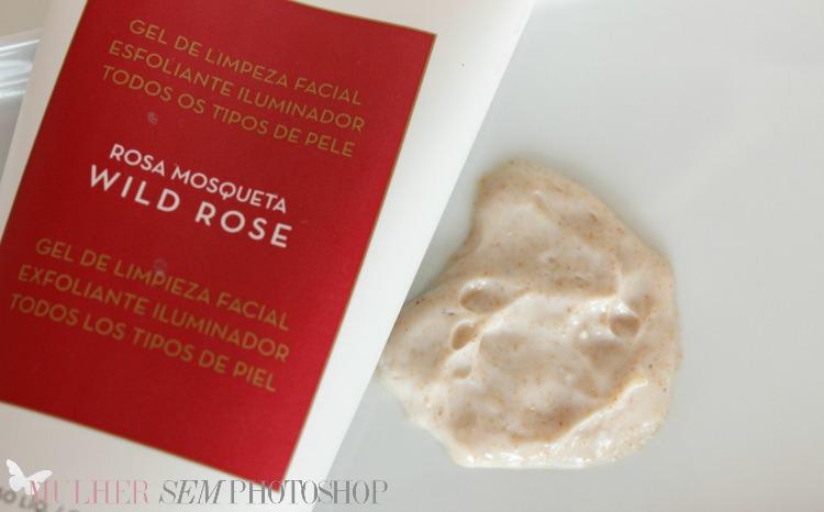 Gel de Limpeza Facial Rosa Mosqueta Korres