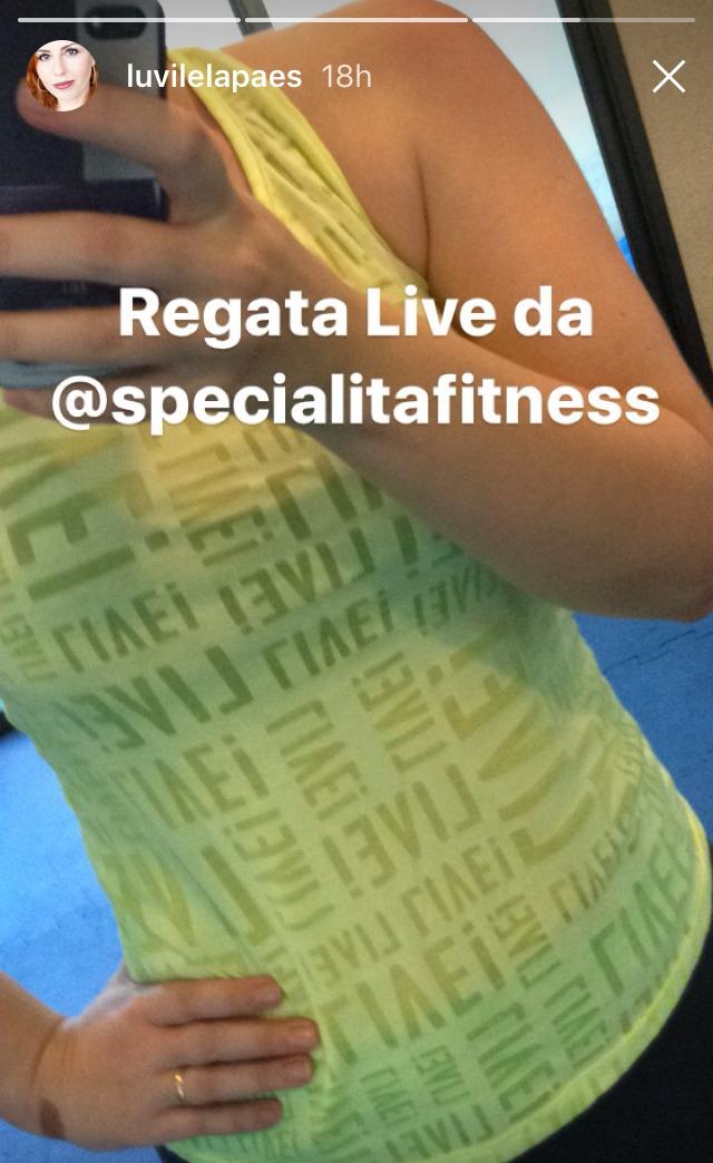Rotina Fitness  - camiseta LIve Fitness