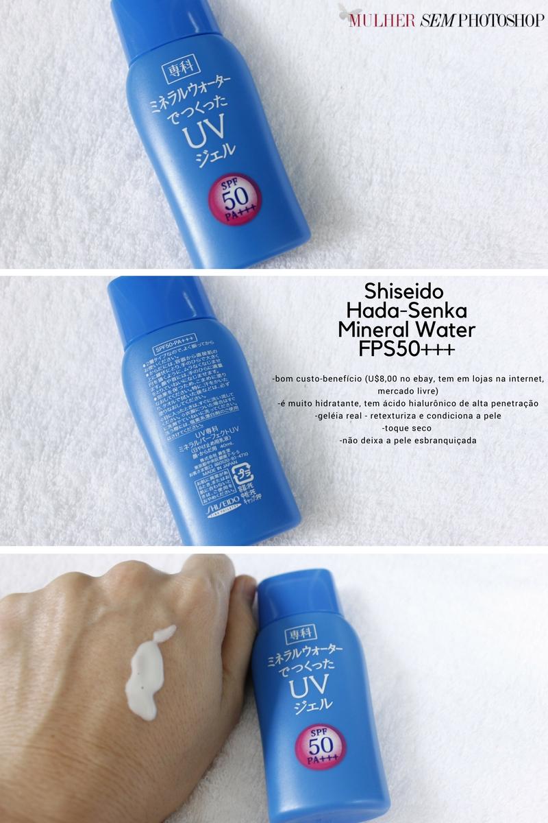 Shiseido Hada Senka Mineral Water FPS50