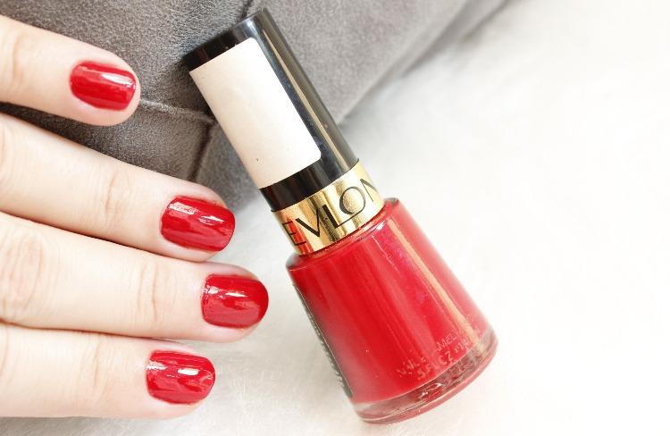 Revlon Red esmalte vermelho