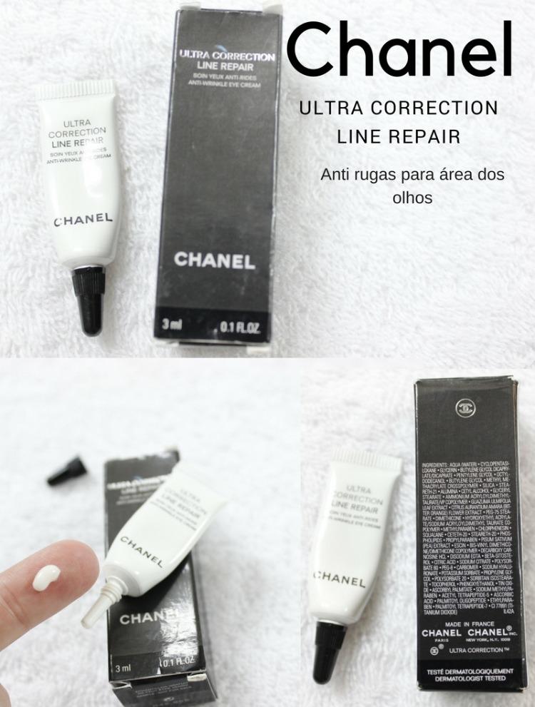 Creme para área dos olhos da Chanel - resenha