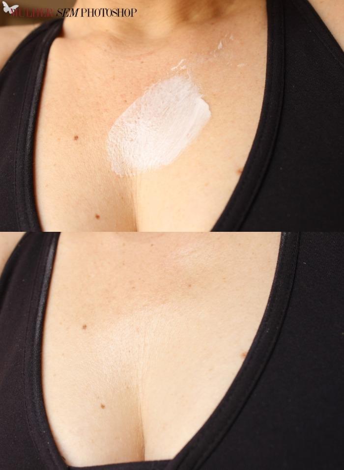 Vichy Ideal Body Pescoço Colo Mãos resenha - gel creme antiidade