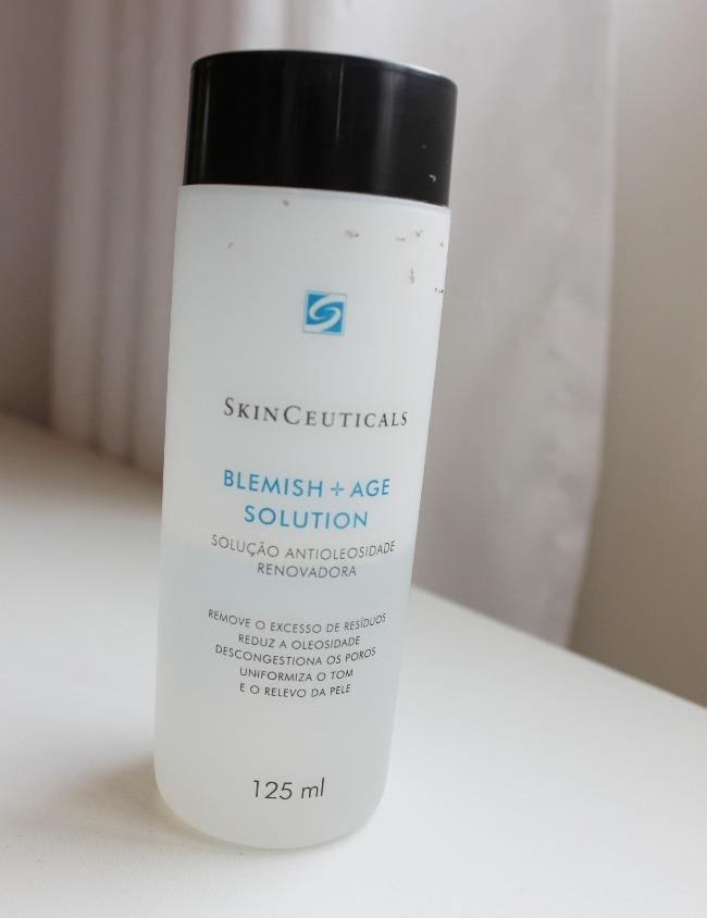 Blemish + Age Solution SkinCeuticals para pele oleosa resenha