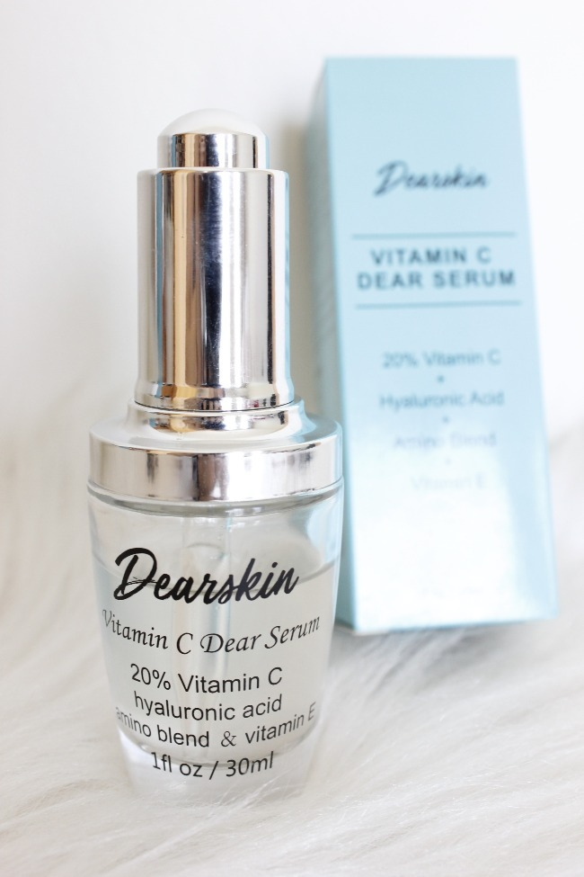 Vitamin C Dear Serum DearSkin - resenha dermocosmético